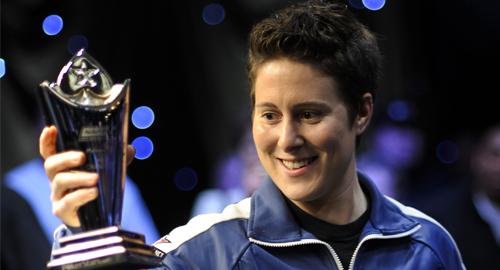 Pemain Poker Wanita Terbaik : Vanessa Selbst