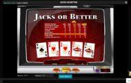 Kasino Mini Games : Jacks or Better