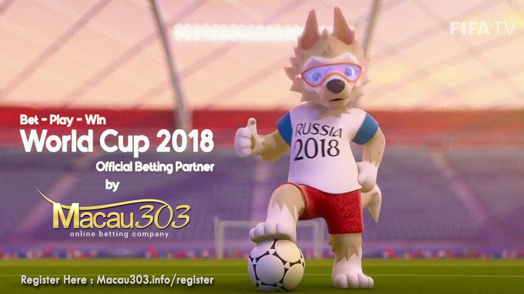 Macau303 - Agen Judi Bola Resmi Piala Dunia 2018