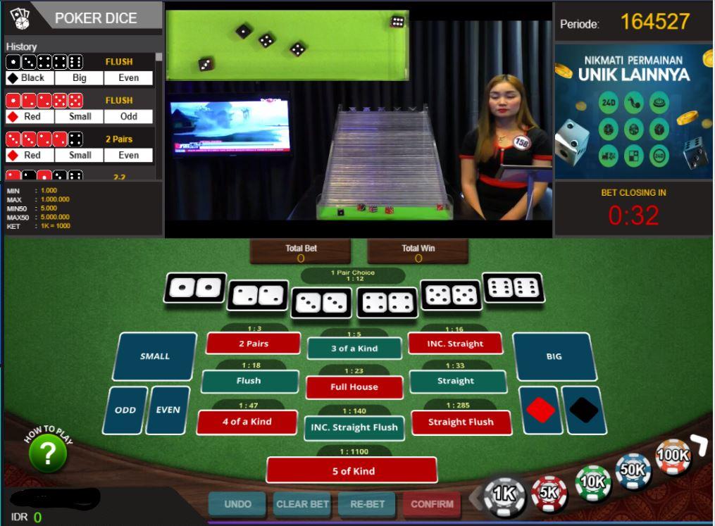 Layout Permainan Judi DaduPoker