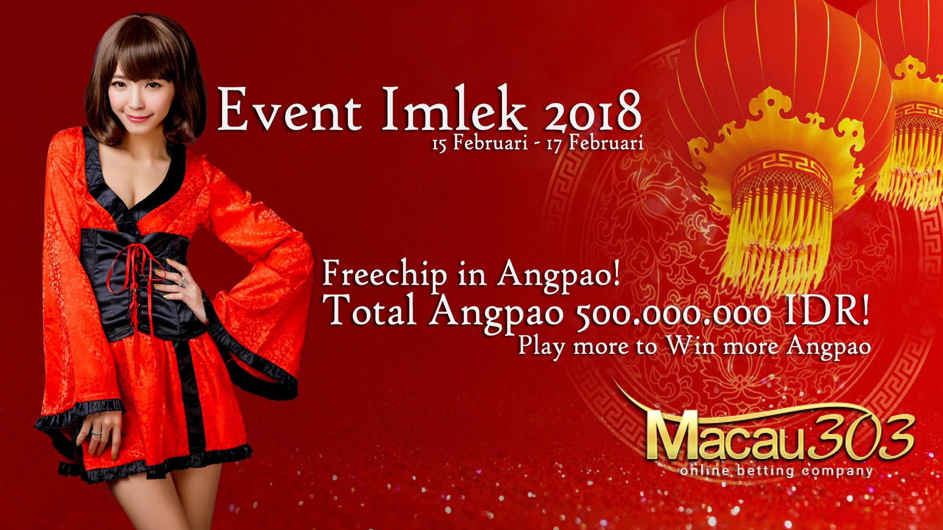Event Imlek Angpao Freechip