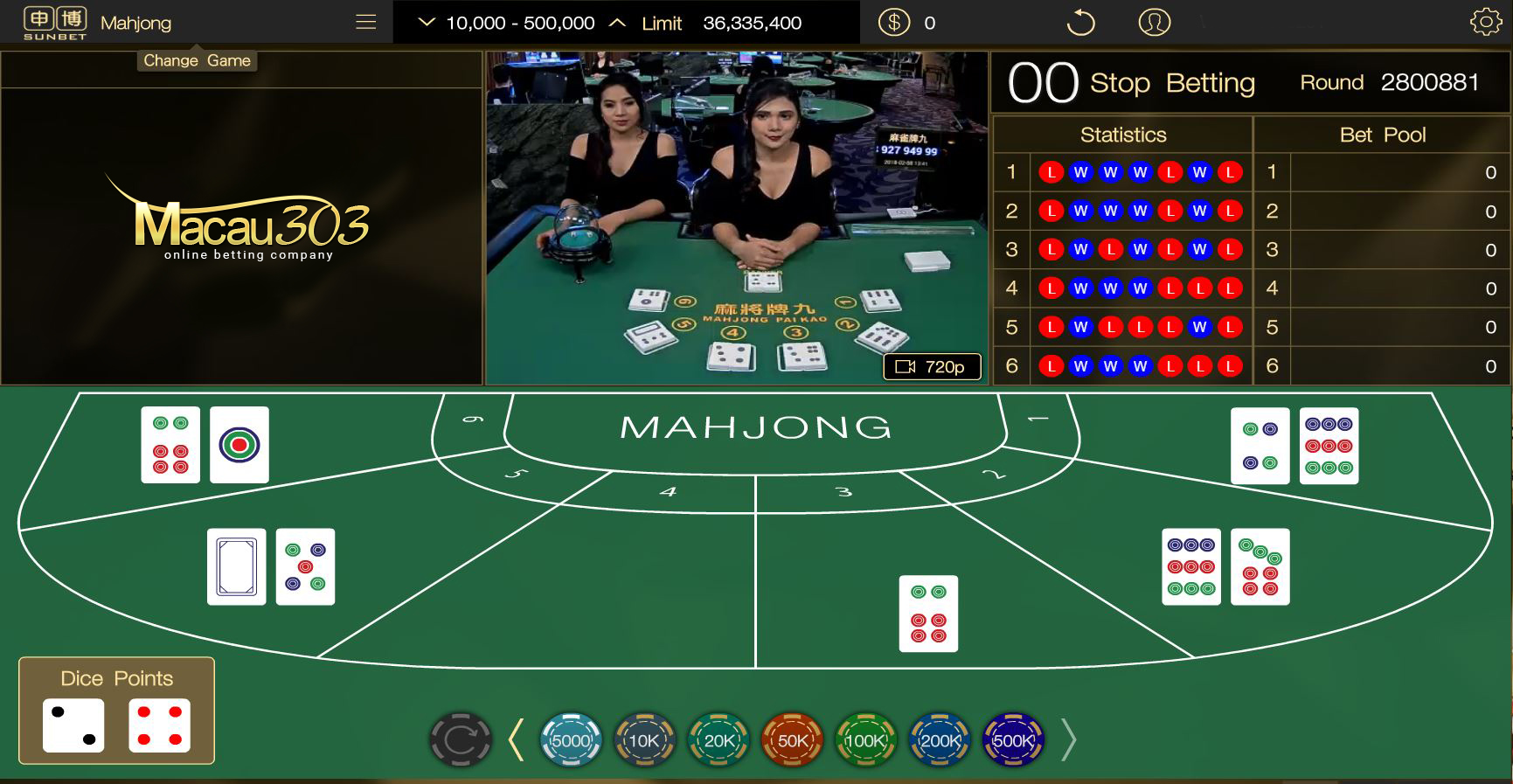 Permainan Judi Mahjong Baru Macau303