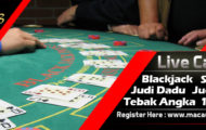Live Casino Blackjack Banner