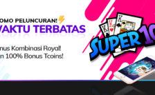 Bonus Kemenangan Kombinasi Player Samgong atau Super10