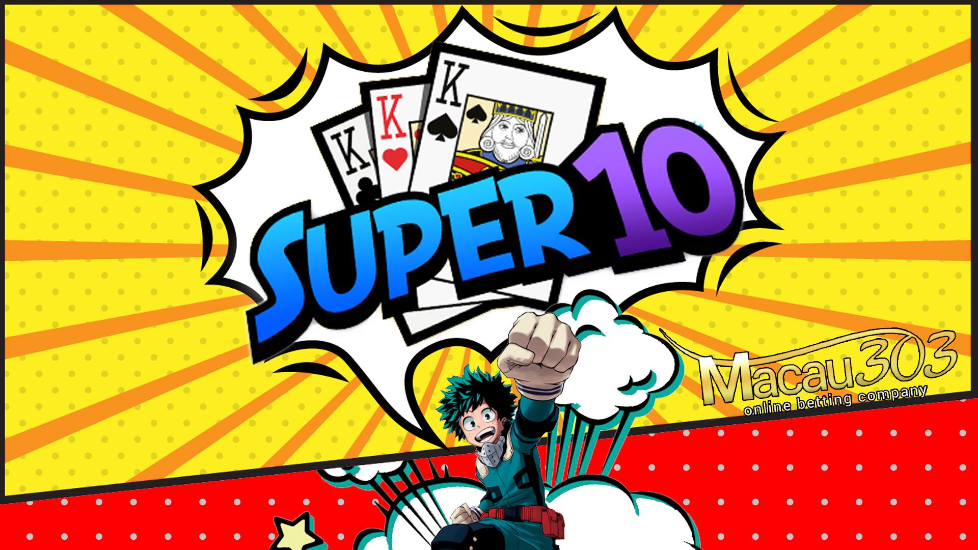 Super10 Permainan Terbaru Macau303 - Samgong Online