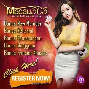 daftar situs agen judi online terpercaya - pasti bayar - banyak bonus freebet - freechip gratis 100% tanpa deposit - www.macau303.site