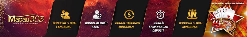 promo bonus freechip 100% gratis tanpa deposit - macau303.id